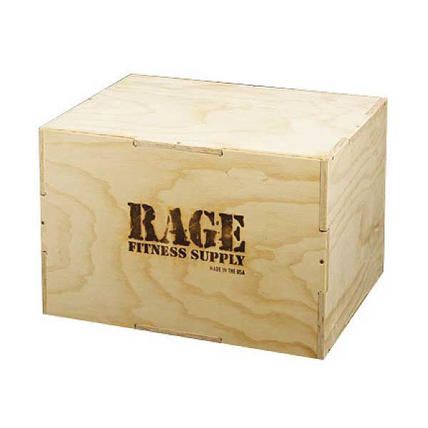 rage-wood-cube-plyo-box - Available at Fitness 4 Home Superstore - Chandler, Phoenix, and Scottsdale, AZ. Locations close to Tempe, Peoria, Glendale, & Mesa!