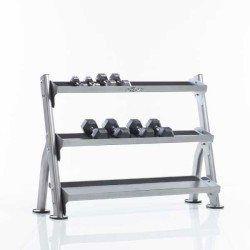 TuffStuff CDR-300 2-Tier Tray Dumbbell Rack – Evolution Series
