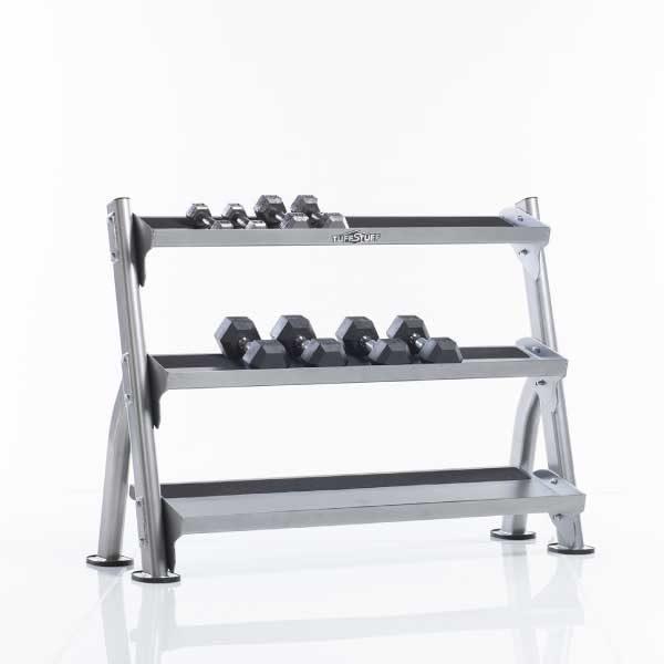 TuffStuff CDR-300 2-Tier Tray Dumbbell Rack