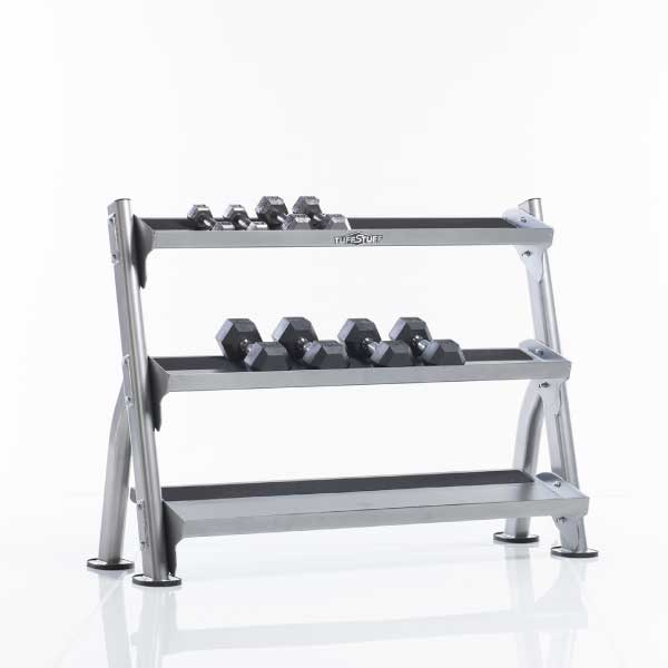 TuffStuff CDR-300 2-Tier Tray Dumbbell Rack