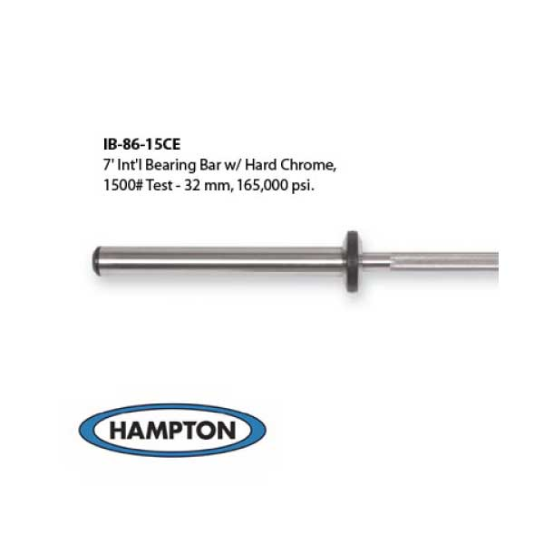 Hampton Olympic bar IB-86-15CE - Available at Fitness 4 Home Superstore - Chandler, Phoenix, and Scottsdale, AZ. Locations close to Tempe, Peoria, Glendale, & Mesa!