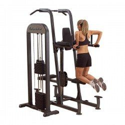 Body Solid FCD-STK Pro Select Weight Assisted Chin-Dip Station