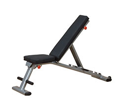 Body Solid GFID225 Folding Flat / Incline / Decline Bench
