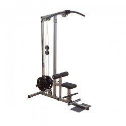 Body Solid GLM83 Plate Loaded Lat Machine